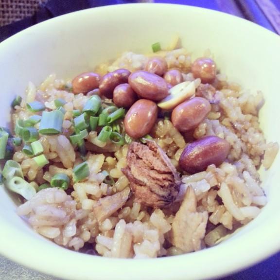 Leftover sauce + rice = Kiampung.