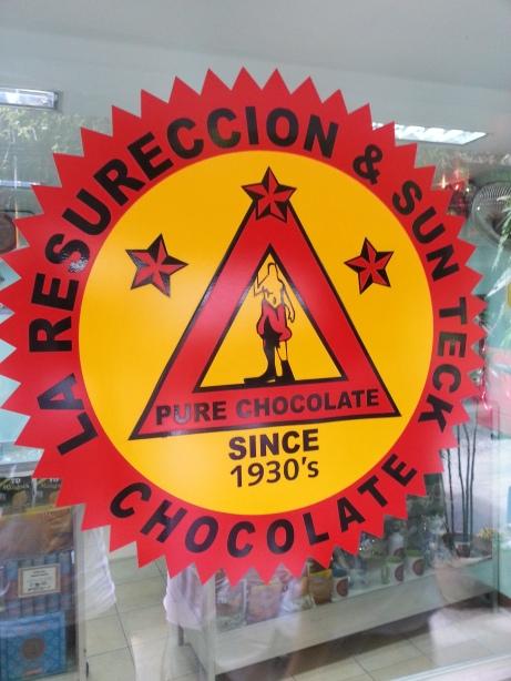 Illuminati-lookin' Chocolate