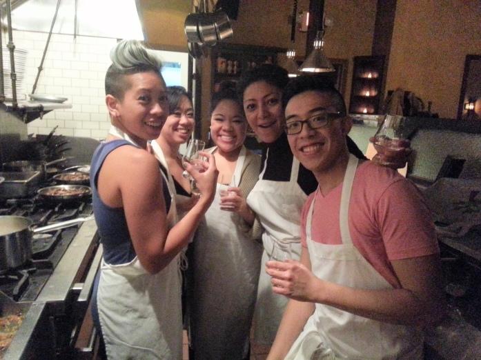 Yana and Team SALO at Sindicato de Cocineros, Brooklyn.