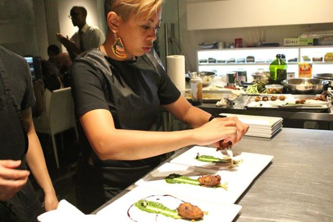 Guest chef Yana Gilbuena of the SALO Series.