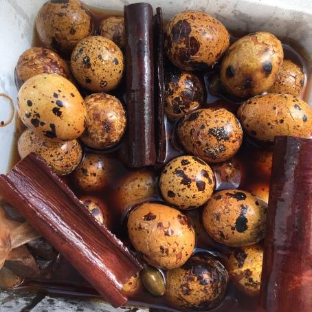 Somali Tea Quail Eggs.